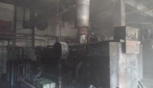 Charred machine in Ishrak Spinning Mills
